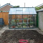 Greenhouse now up and running