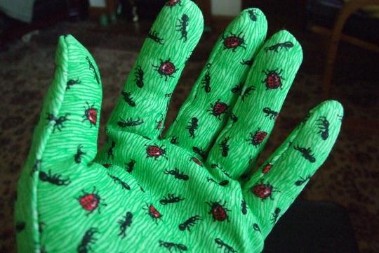 I've got green fingers....