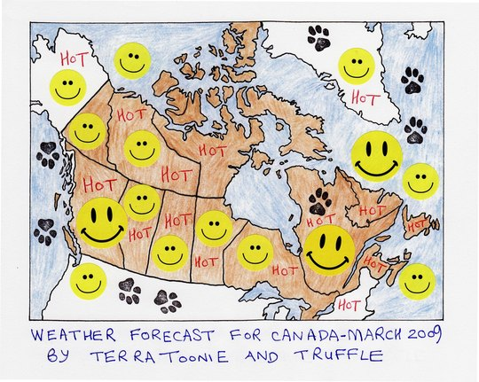 WARM SUNSHINE FOR CANADA  - pleeeeeeeeeeease