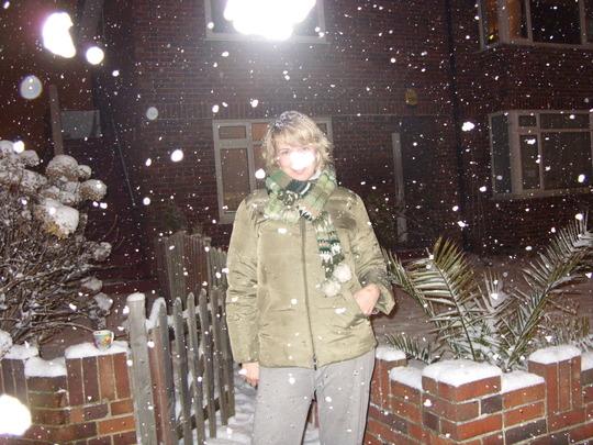 the night it snowed