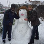 """Our """"bare"""" Snowlady"""