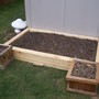 This will be my first garden bed for carrotts, herbs and some flowers