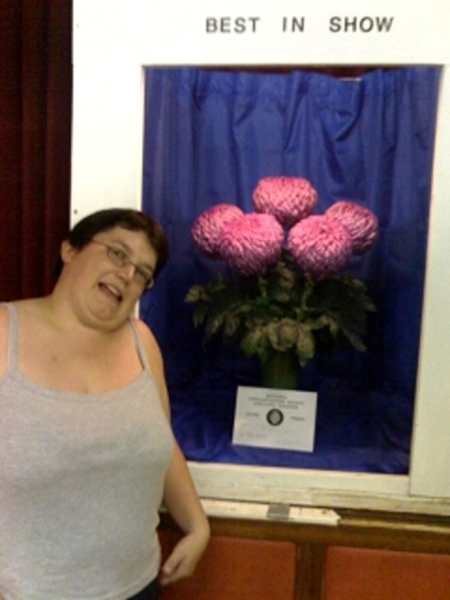 Best Vase in show at a local society show in Hull