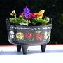 Narrowboat Flower Cauldron