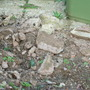 Nasty concrete rubble to dig out