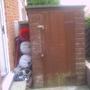 garden side on including shed