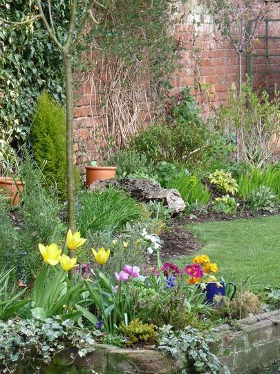 Spring walled garden
