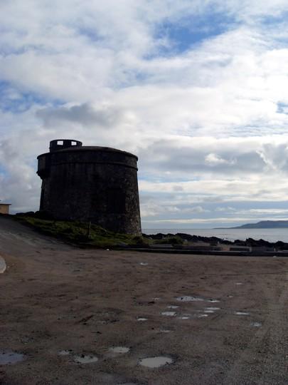 Martello tower . Donabate beach Dublin