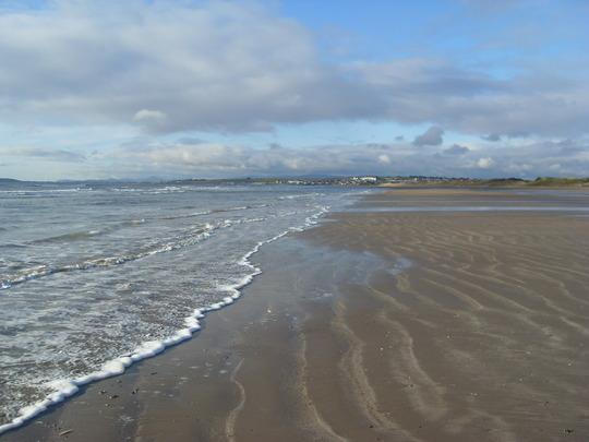 Donabate beach Dublin