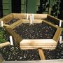 Herb garden progress