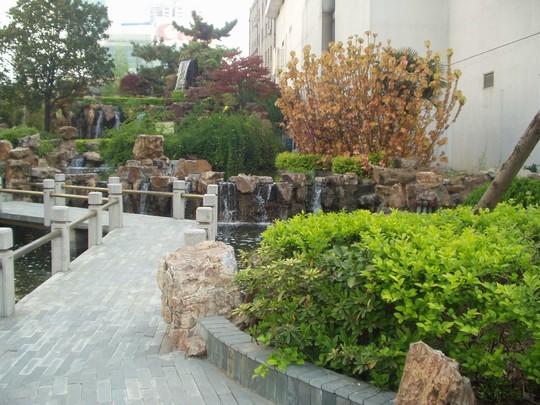 Jingling hotel garden