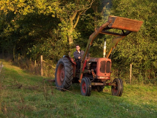 Playing with tractors