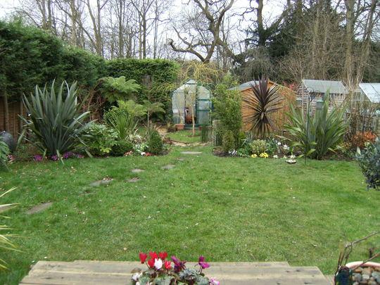 Garden in March