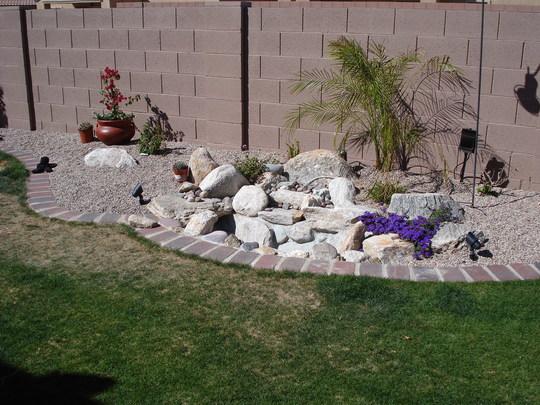 Garden in Apr 09