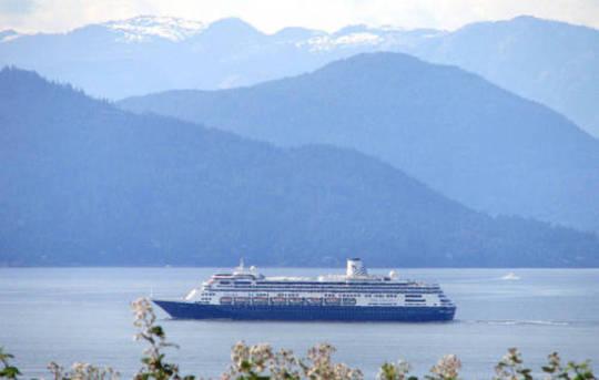 Cruise Ship, Vancouver, BC Canada