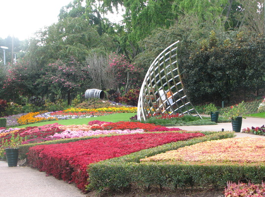 Roma Street Parklands - Brisbane - Spectacle Garden Area