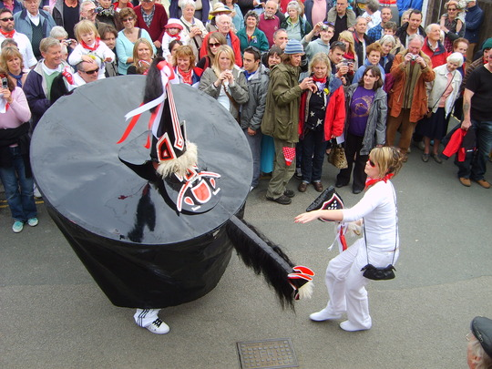 Mayday 09 in Padstow