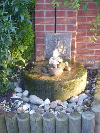My pebble pond