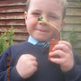 My little prince & his pumpkin