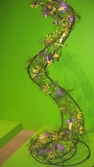 plant sculpture