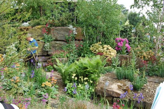 Hesco Garden, Chelsea 2009