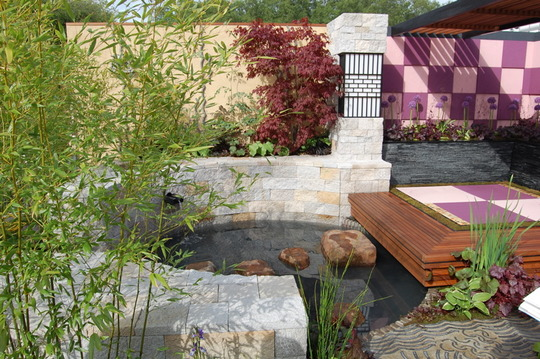 Japanese Retreat, urban garden