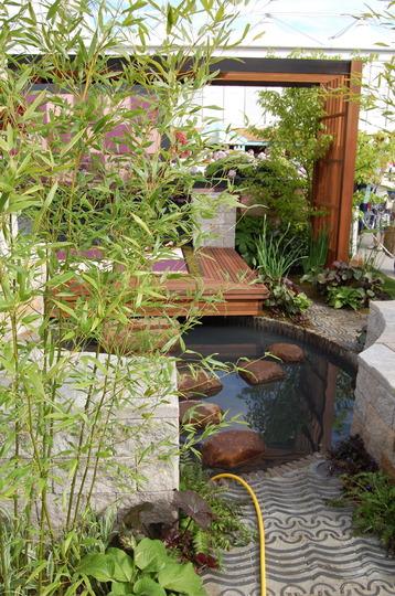 Japanese Retreat, urban garden