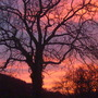 Sunset at Llyswen,Powys