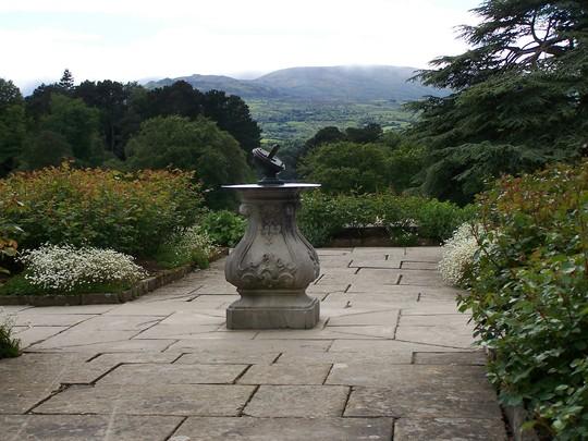 Rose Garden Terrace at Bodnant
