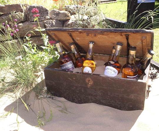 Detail In The Whisky Galore Themed Seaside Garden Gardening Scotland 2009