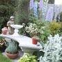 Garden Seat in my Garden Today