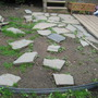 Digging the Stone Patio