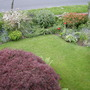 View from the bedroom window in May