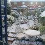 back garden winter 07