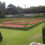One of the four parterres at Pitmedden Garden (NTS)