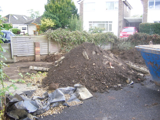 New Home, New Front Garden - Before