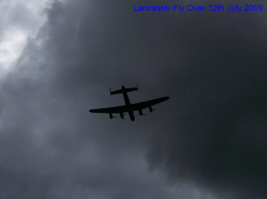 Lancaster fly over