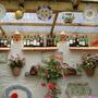 La Taverna .... Wine Bottles Display