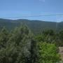 Sandía Mountains, green side.