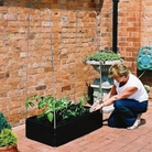 Garland Plastic Raised Bed Kit with Frame