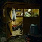 Solar shed light set