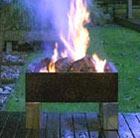 Hotspot square brazier fire pit