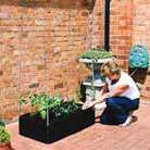 Mini raised bed and support frame