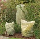 Winter fleece plant covers