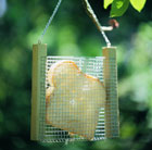 Toast holder for feeding birds