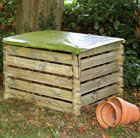 Compost box cover