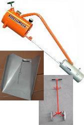 Sheen X500 Flame Gun (Includes Trolley + Hood)
