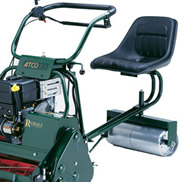 Atco Auto Steer Seat (For Atco Royale 24E Cylinder Lawnmower)