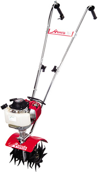 Mantis 4-Stroke Tiller/Cultivator (Honda Engine)