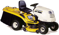 Simplicity Legacy L27/4XL Heavy-Duty Garden Tractor with Four Wheel Drive